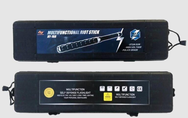 Фейковый шокер HY-168 MAX POWER: электрошокер-дубинка, отзывы, цена, характеристики, инфо